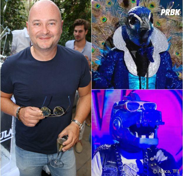 Mask Singer : Cauet est-il la célébrité cachée sous le masque de dinosaure ou du paon ? Il répond
