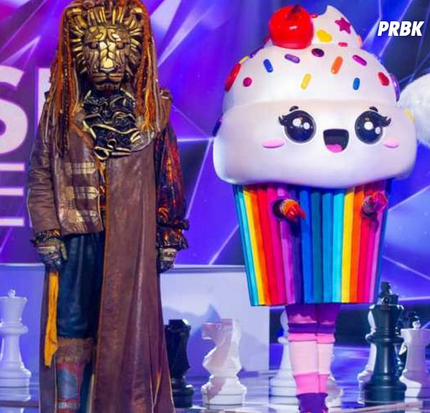 Mask Singer : le Lion et le Cupcake éliminés, découvrez l'identité des deux stars