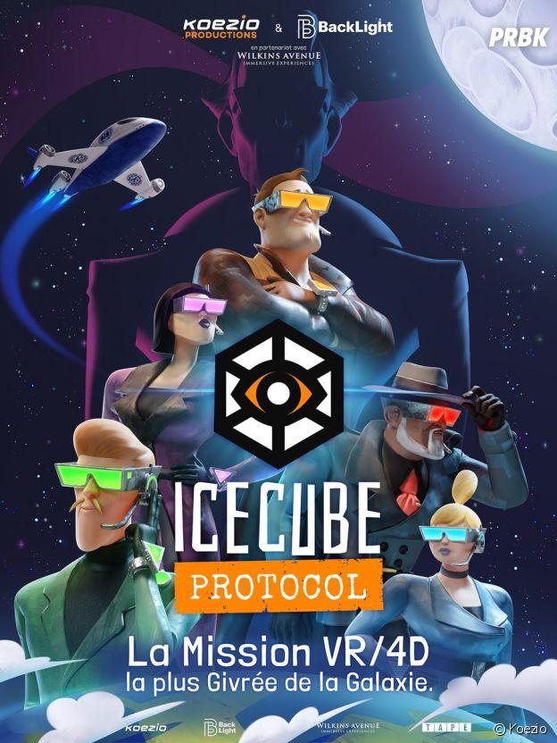 L'escape game Icecube Protocol de Koezio