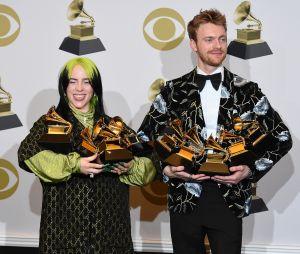 Grammy Awards 2020: Billie Eilish avec son frère Finneas sur le red carpet
