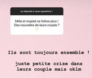 "Milla Jasmine et Mujdat en couple : ils traversent ""une petite crise"""