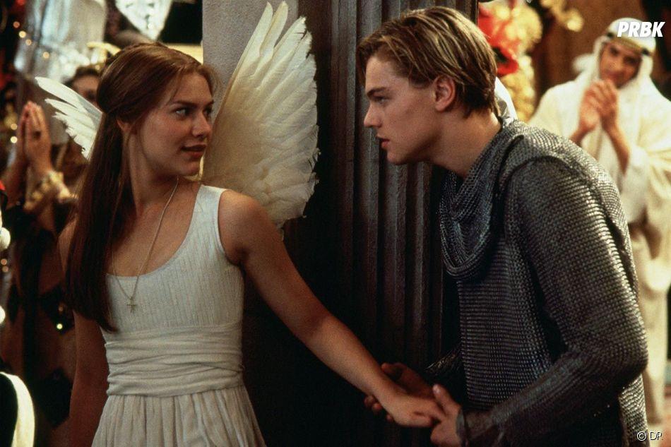 Claire Danes et Leonardo DiCaprio dans Romeo + Juliette