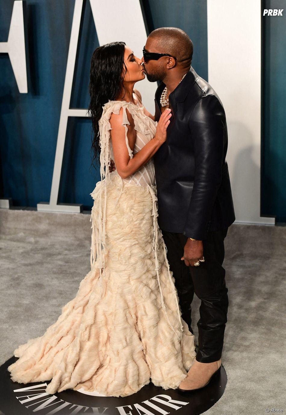 Oscars 2020 : Kanye West et Kim Kardashian sur le red carpet