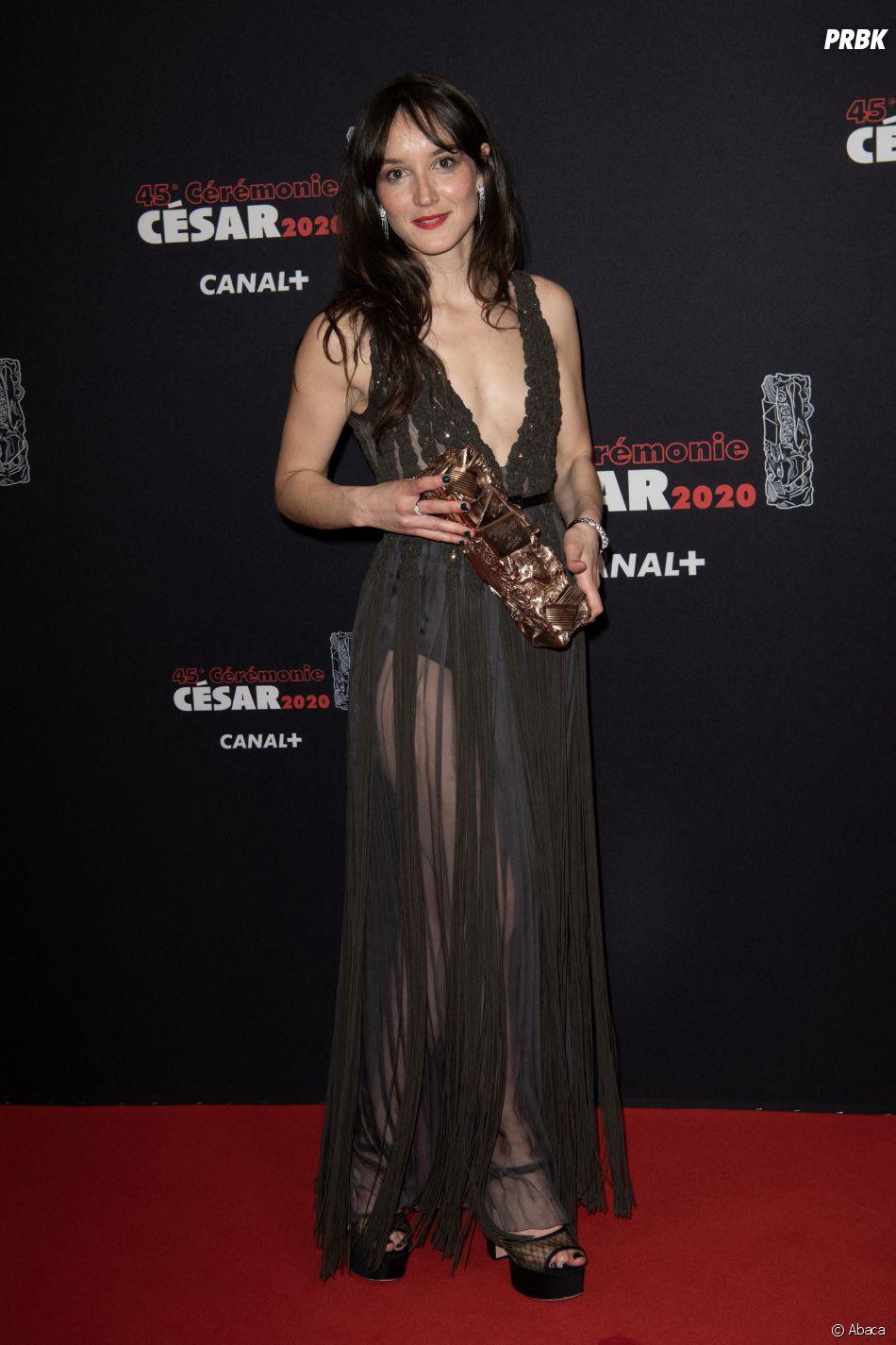 Anaïs Demoustier gagnante au César 2020