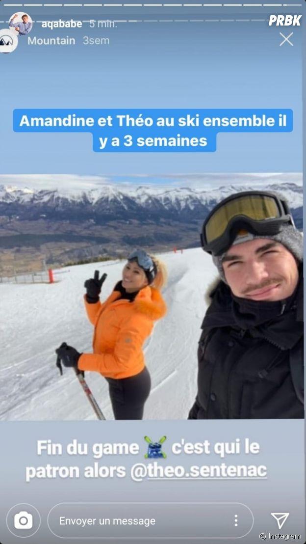 Théo (La Villa des Coeurs Brisés 5) infidèle à Cassandra avec Amandine Michel ?