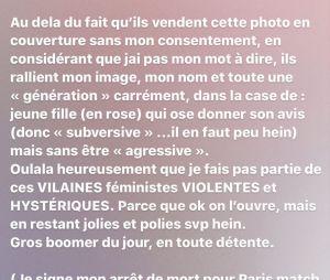 """Angèle réagit à la polémique de sa photo sur la couverture de Paris Match jugée sexiste : """"Je ne l'avais jamais validée"""""""