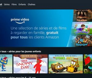 Prime Video propose des dessins animés et films gratuitement pour les enfants