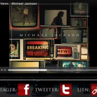 Michael Jackson ... Ecoutez son nouveau tube ... Breaking News issu de l'album MICHAEL