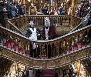 La librairie Lello n'a pas inspiré J.K. Rowling pour Harry Potter