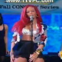 Rihanna ... Super sexy en live à la télé US