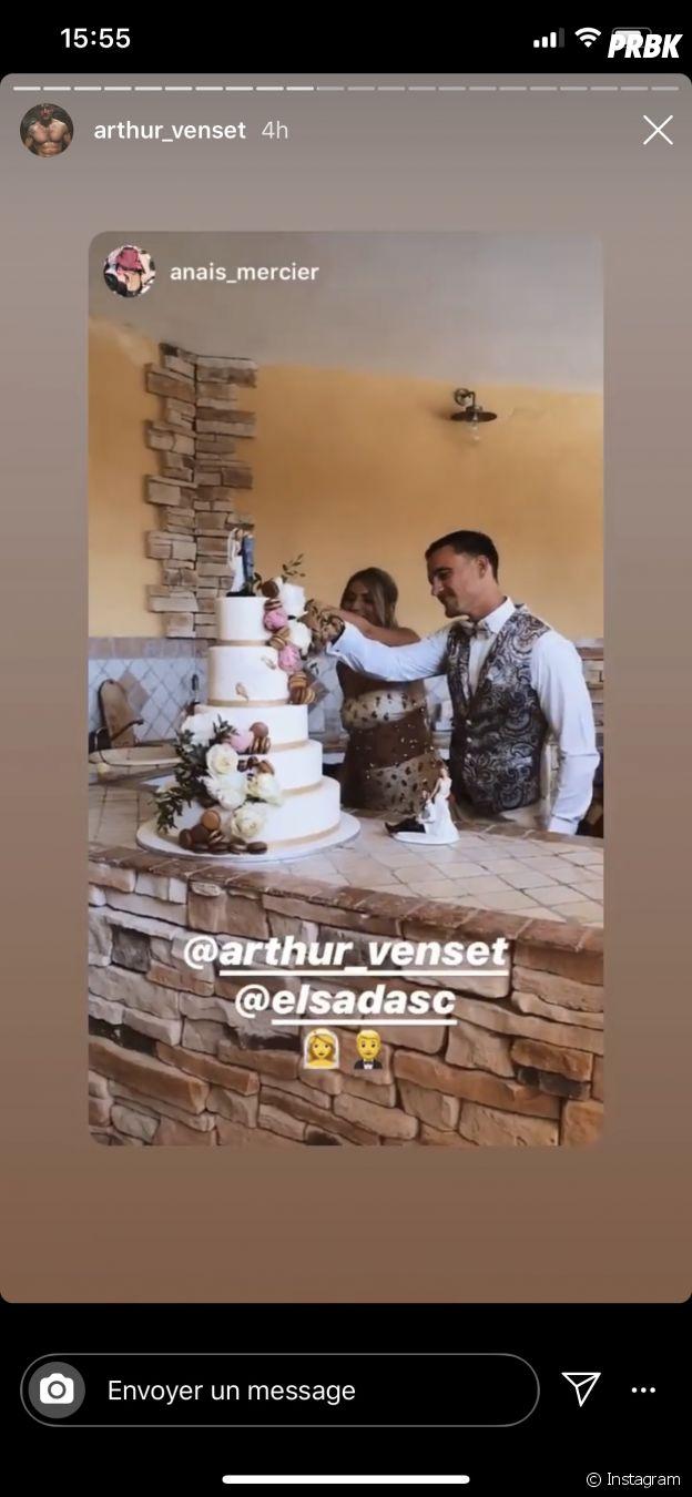 Elsa Dasc et Arthur Venset mariés pour la deuxième fois
