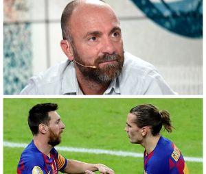 """Messi """"à moitié autiste"""" et Griezmann sans """"cojones"""" : les propos de Christophe Dugarry indignent"""