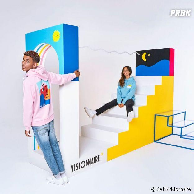 Celio x Visionnaire : Bigflo & Oli sortent une collab pop et colorée pour la rentrée