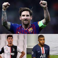 Lionel Messi, Neymar, Kylian Mbappé... top 10 des footballeurs les mieux payés en 2020 (c'est fou)