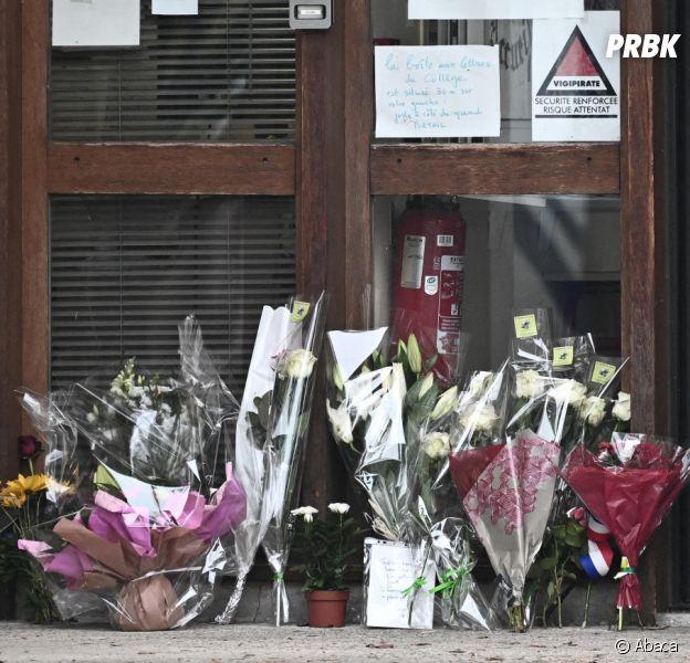 Attentat à Conflans : pluie d'hommages après la mort du professeur décapité avec #JeSuisProf