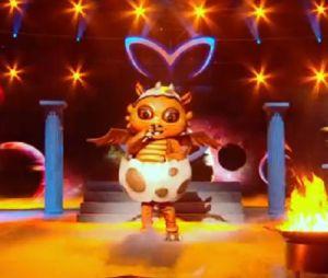 Qui se cache derrière le dragon dans Mask Singer saison 2 ? Sa prestation du premier prime