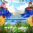 Mask Singer 2 : quelles célébrités derrière les perroquets ? Les indices sur leur identité