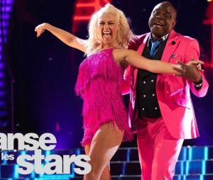 Basile Boli dans Danse avec les Stars avec Katrina Patchett
