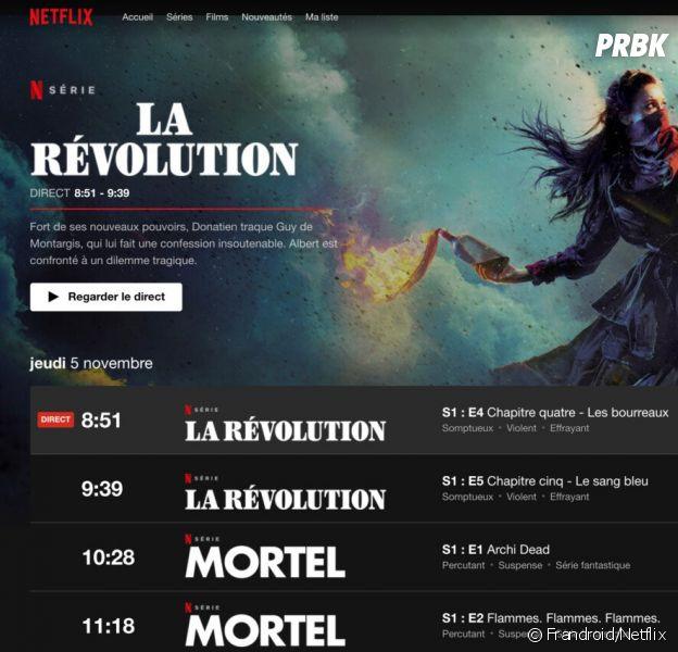 Netflix lance sa télé en direct en France