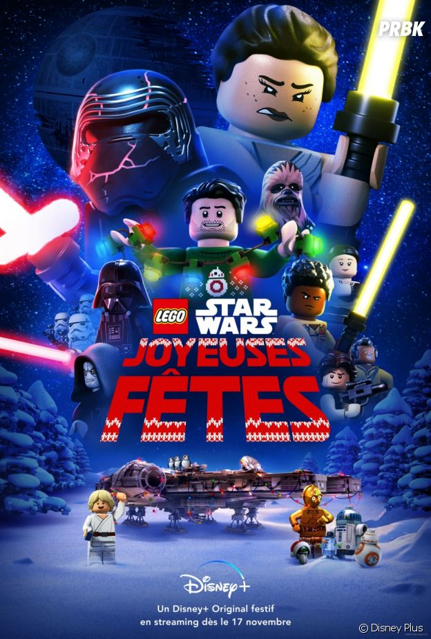 Lego Star Wars sur Disney+.