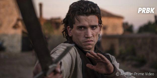 Jaime Lorente dans la série El Cid, disponible sur Amazon Prime Video