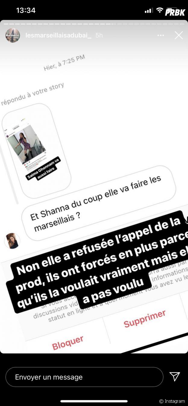 Shanna Kress aurait refusé de participer aux Marseillais à Dubaï