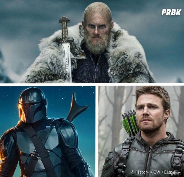 Vikings, The Mandalorian... Top 10 des séries les plus téléchargées en 2020