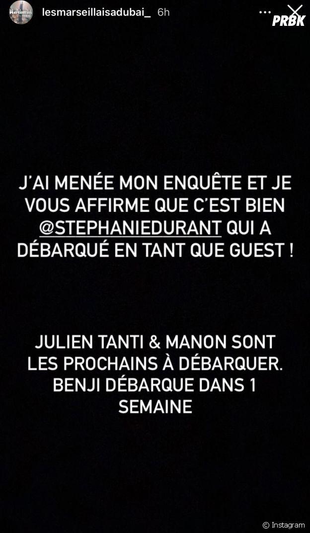 Stéphanie Durant de retour dans Les Marseillais aux Caraïbes ?
