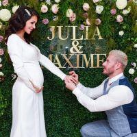 Julia Paredes et Maxime Parisi se sont dits oui : ils dévoilent des photos du mariage 💍