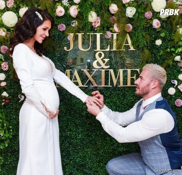 Julia Paredes et Maxime Parisi se sont dits oui : ils dévoilent des photos du mariage