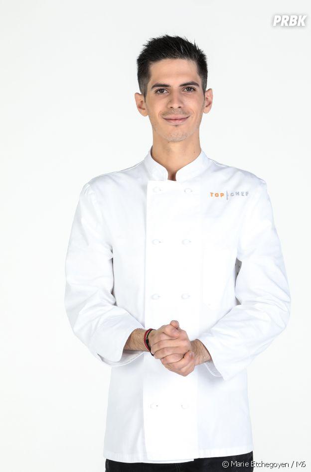 Adrien Zedda, candidat de Top Chef 2021