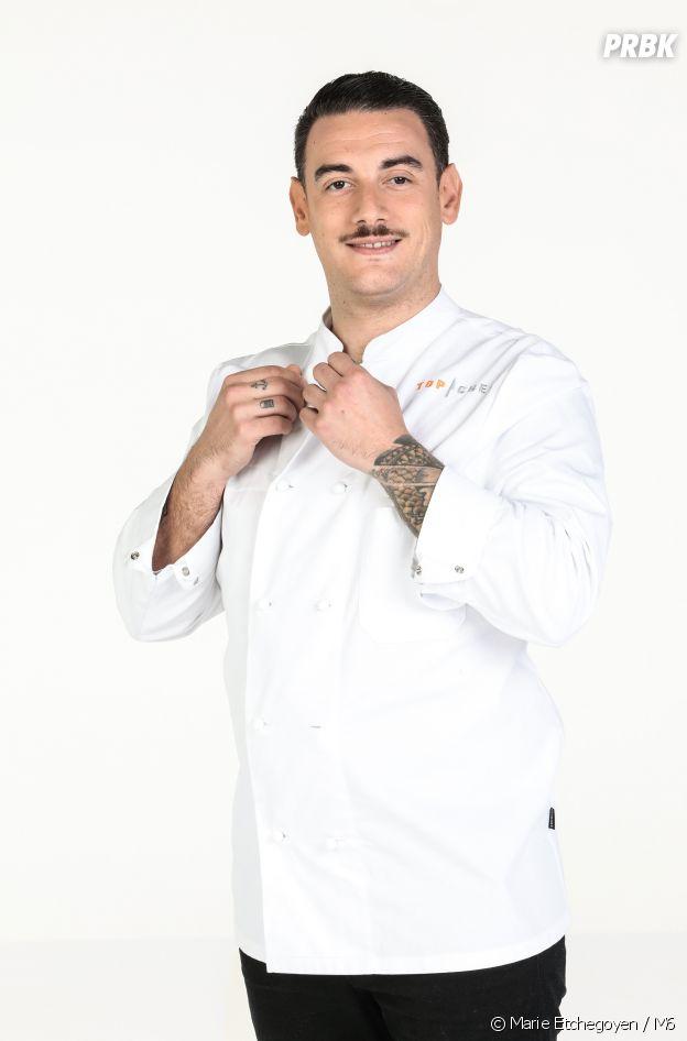 Arnaud Baptiste, candidat de Top Chef 2021