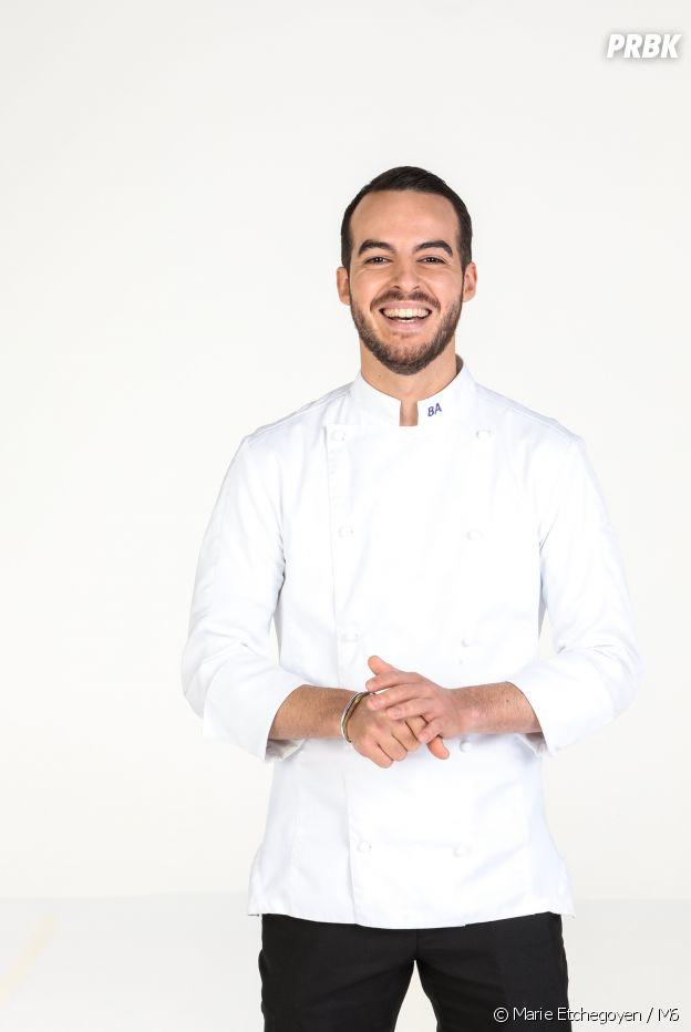 Bruno Aubin, candidat de Top Chef 2021