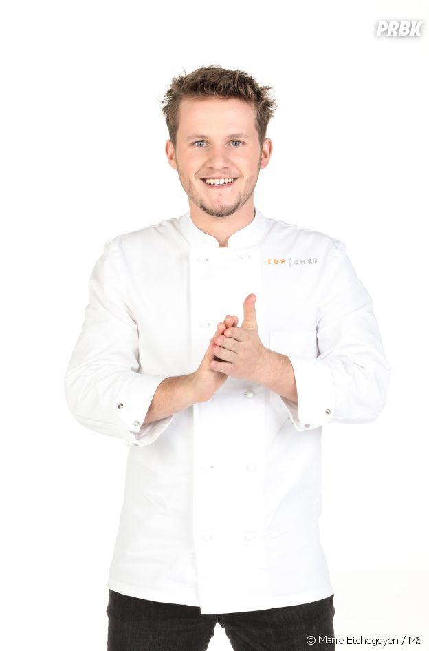 Mathieu Vande Velde , candidat de Top Chef 2021