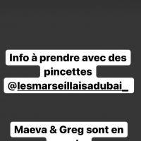 Maeva Ghennam et Greg Yega de nouveau en couple dans Les Marseillais à Dubaï ? La rumeur relancée