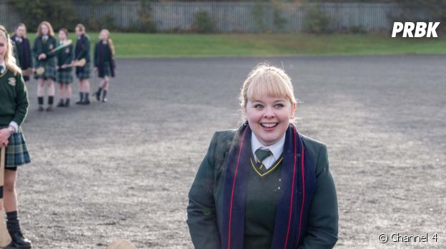 Nicola Coughlan dans Derry Girls