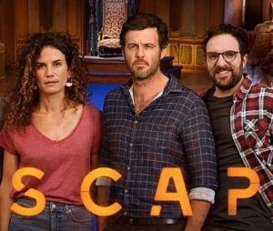 Escape : les coulisses de la première fiction longue de W9 avec David Mora et Barbara Cabrita