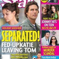 Katie Holmes et Tom Cruise ... Rumeur de divorce dans l'air