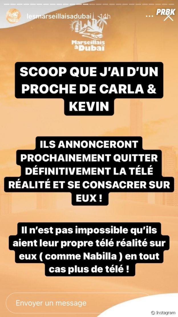Carla Moreau et Kevin Guedj arrêtent définitivement la télé-réalité ?