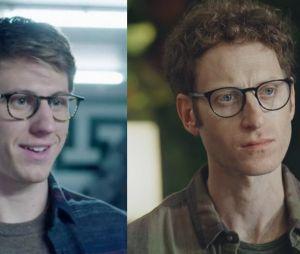 Plus belle la vie : Ian Moss incarné par Matt Mella à gauche et par Samuel Brafman à droite