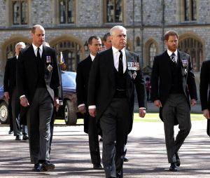 Obsèques du Prince Philip : Harry présent aux côtés de son frère William, Meghan Markle absente