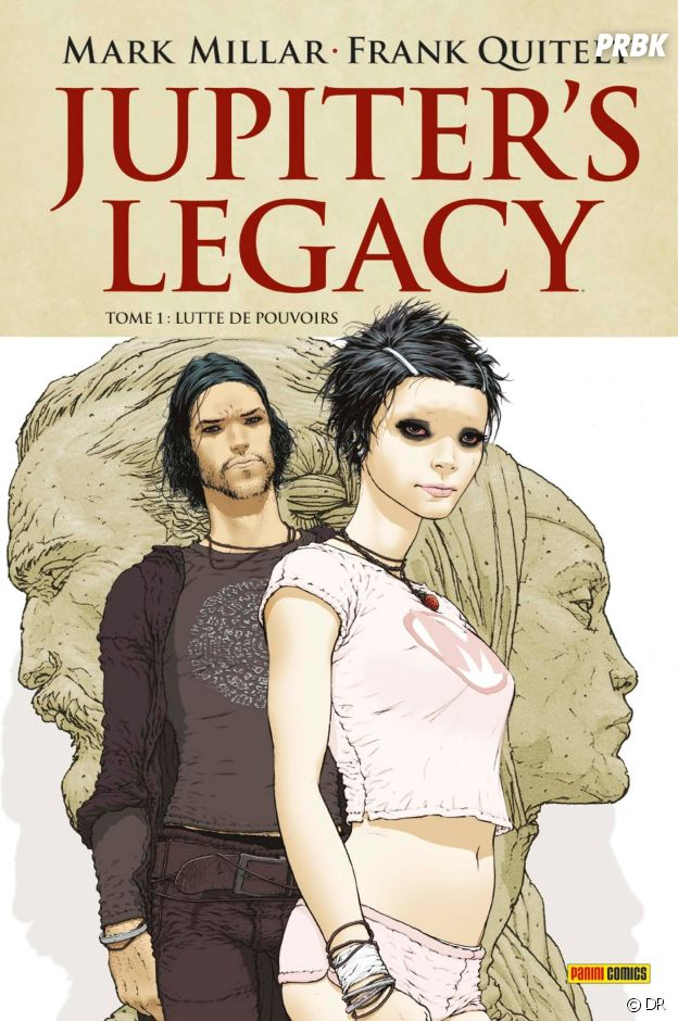 Le comics JUpiter's Legacy de Mark Millar et Frank Quitely