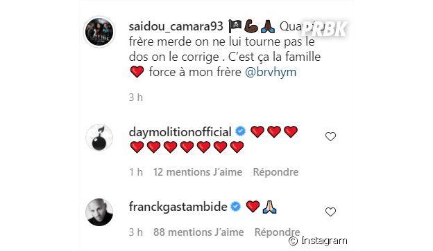 Franck Gastambide soutient Brahim Bouhlel après le message de Saidou Camara