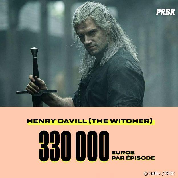 Le salaire de Henry Cavill dans The Witcher