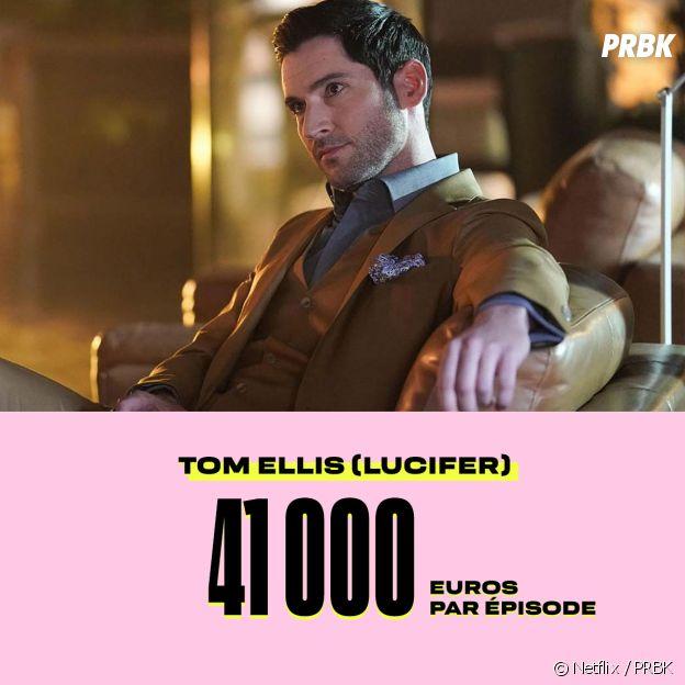 Le salaire de Tom Ellis dans Lucifer