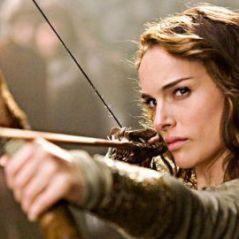 Natalie Portman dans le film Your Highness ... Universal cache une partie de son corps