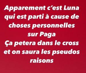 Les Marseillais VS Le reste du Monde 5 : Luna séparée de Paga se serait rapprochée d'Illan