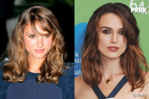 Keira Knightley est le sosie de Natalie Portman