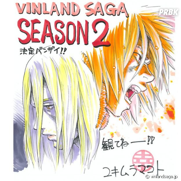 Vinland Saga saison 2 : la suite de l'anime enfin confirmée, changement de studio à craindre ?