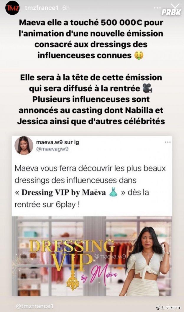 Maëva Ghennam à la tête de sa propre émission après Les Marseillais : son énorme salaire dévoilé ?